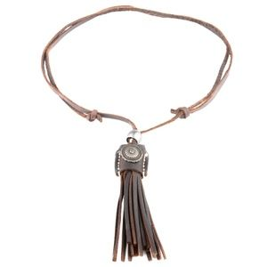 Old Town Road brown urban Necklace